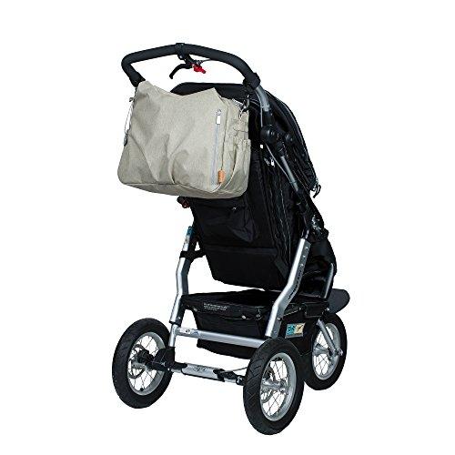 Lässig 1101003303 Wickeltasche Green Label Global Bag Ecoya, sand/beige - 5
