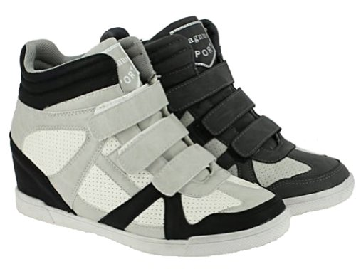 Luz Boots Cinzenta Tornozelo Sapatos Ankle Planalto Mulheres wX6q8T