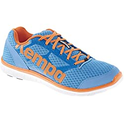 Kempa K-Float, Zapatillas Unisex Adulto, Azul / Naranja, 9.5 EU