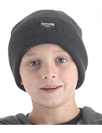 Boys Thinsulate Lined Knitted Beanie Hat GL230