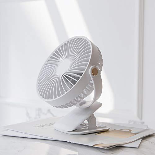 Externe Außen-gebläse (Bearbelly USB Mini Desktop Clip Fan Lade Fan 720 Grad ohne Sackgassen drehen Silent Built-in 2000mAh Batterie Clip Fan für Office School Home und Outdoor, Studenten kreative Geschenk)