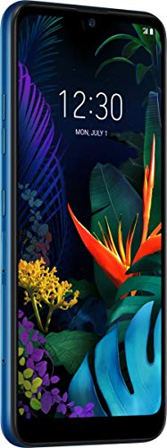 LG K50 Smartphone (15, 9 cm (6, 26 Zoll) IPS-LC-Display, 32 GB interner Speicher, 3 GB RAM, MIL-STD-810G, Android 9.0) Moroccan Blue