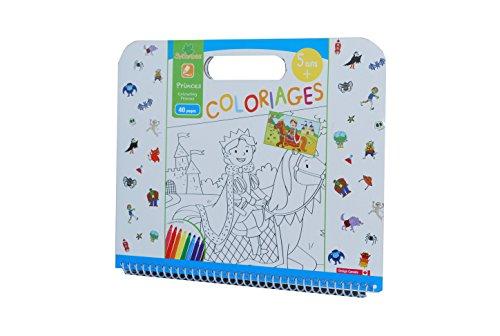 Sycomore CRE6023 - Coloriage Enfant - Coloriages Princes 40 Pages - 5+ Ans
