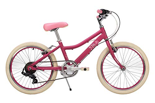 Raleigh Chic Girls Bike 20 Inch Wheel 11 Inch Frame 6 Speed Cherry 2019 Best Price and Cheapest