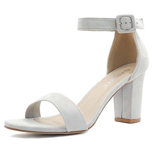 allegra-k-donna-tacco-largo-sandali-con-cinturino-alla-caviglia-donna-argento-eu-36