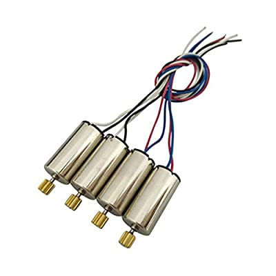Fytoo Parts 4PCS Motors for SYMA X5S X5SC X5SW X5HC X5HW X5UC X5UW RC Quadcopter Drone Motor Accessories by china
