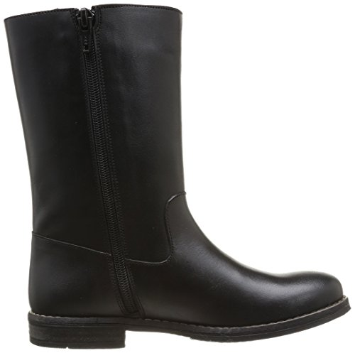Yep Angele 1068, Bottines fille Noir (Cuir Noir)