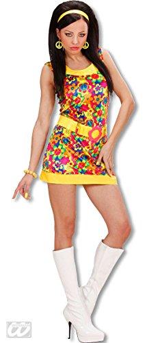 (Horror-Shop Funky Girl Kostüm Gr.S)