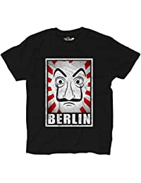 KiarenzaFD Camiseta Camiseta Serie TV La Casa Berlin de Papel de Papel Cult Movie Grunge,