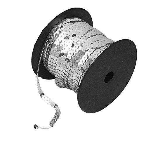 PIXNOR Sequins métallisés PVC 6mm