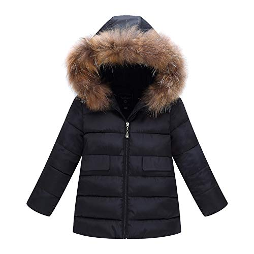 Riou Mantel Baby Kleidung Winter Warme Mantel Kapuzenjacke Kinderjacke Wintermantel Daunenjacke Weihnachten Mode Kinder Mantel Jungen Mädchen Dicke Mantel...