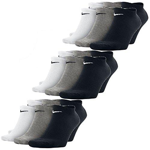 Nike No Show Sneaker Socks Socken 3er Pack (Low - Cut-logo-socken)