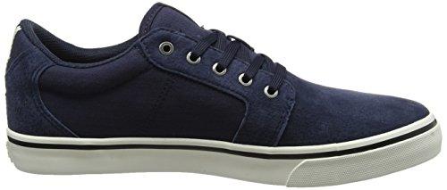 JACK & JONES Herren Jfwdandy Nubuck Navy Blazer Sneaker Blau (Navy Blazer)