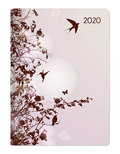 Agenda giornaliera 2020 Style 'Hummingbird Tree' 10.7x15.2 cm
