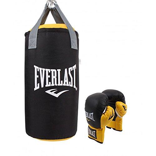 ng Set mit Handschuhen und Boxsack ()