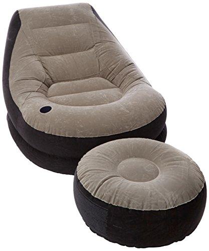 Intex 68564 Poltrona Lounge, cm 99X130X76, Poggia Piedi, cm 64X28, I.4