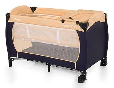 Hauck Sleep'n Play Center - Cuna de viaje (parque y cuna, 60 x 120cm, 7,7kg), multicolor
