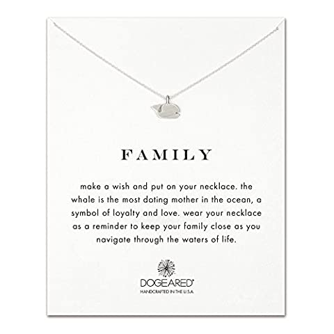 Dogeared - Collier Family - 925/1000 - Argent - Femme
