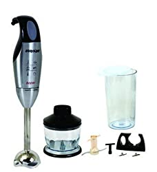 Euroline Hand Blender (SS) with 9 Attachments-EL-128