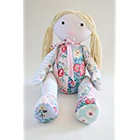 Memory doll sewing pattern, rag doll pattern, made from baby clothes, school uniform or a loved-one's clothing. Memory doll pattern with tutorial style instructions. Free Delivery in UK
