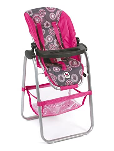 CHIC 2000 Bayer Dolls High Chair (Hot Pink Pearls)
