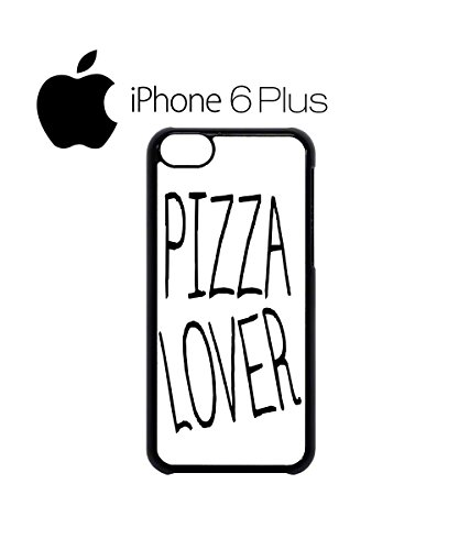Pizza Lover Italian Funny Mobile Phone Case Back Cover Hülle Weiß Schwarz for iPhone 6 Plus White Weiß