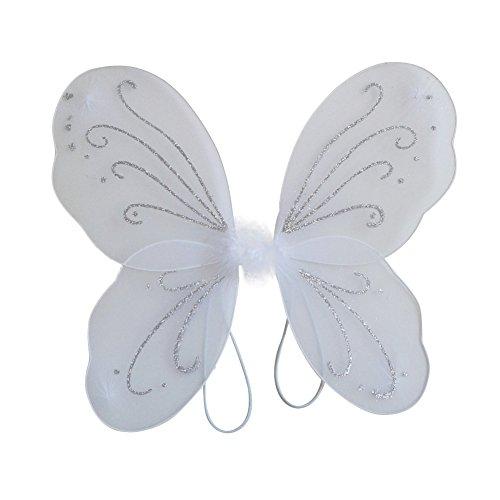 Etopfashion Kinder Mädchen Engels Feenhafte Flügel Kleid Partei Kostüm Halloween Cosplay Kostüm (Angel Dress Up Für Kinder)