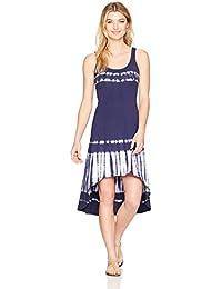 Marc New York Performance Women's Hi-Lo Tie Dye Tank Dress
