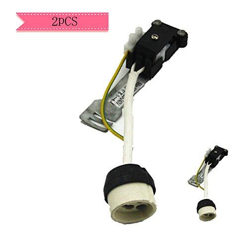 2Stück GU10Anschlussbuchse für Lampenfassung GU10Halogen und LED Lampen Terminal Block/Metall Befestigung - Base Metall-halogen-lampe