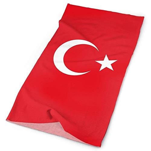 Headbands Flag of Turkey Headband Men Women Headwrap Magic Head Scarf Bandana Headwear Neckerchief Elastic Do Rag Cap Cute Headdress Foulard Band-do-rag