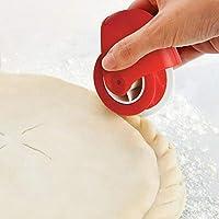 Roller pizza pasticceria Lattice taglierina pasticceria decorazioni rotella tagliapasta in plastica per forniture per la casa