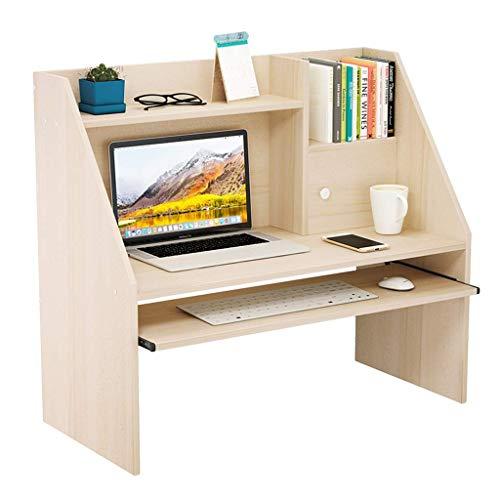 nfacher Bett-Schreibtisch College-Schlafsaal Etagenbett-Schreibtisch Tisch Kleiner Holztisch Fauler Bett-Lagerregal Kinderschreibtisch Mit Mausbrett ()