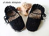 Babyschuhe Sommerschuhe Sandalen für Babys Espadrilles gehäkelt