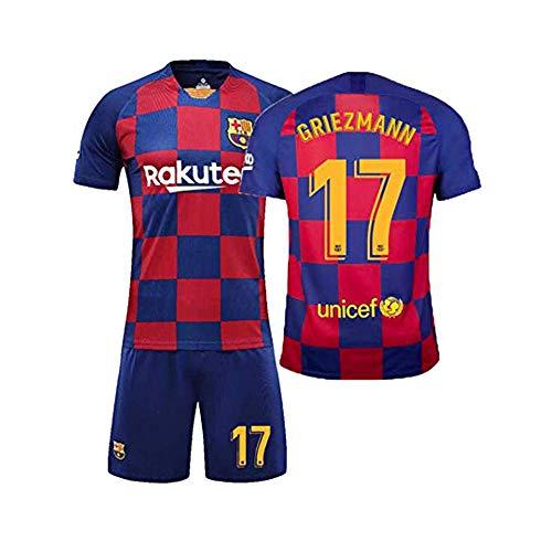 QQT Camisetas fútbol Barcelona 17th Griezmann Home