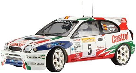 Hasegawa Ha20266 Toyota Corolla WRC 1998 Rallye Monte Carlo Winner modèle kit, Echelle 1/24   Matériaux Sélectionnés Avec Soin