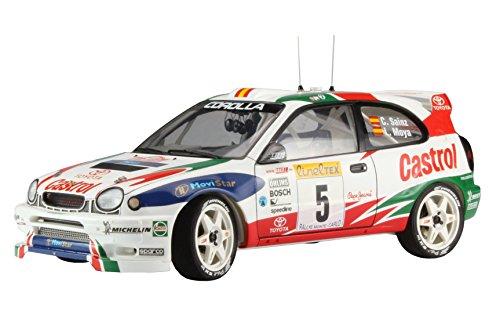 Hasegawa HA20266 Toyota Corolla WRC 1998 Monte Carlo Rally Winner Kit de Modelo, Escala 1:24