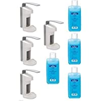 4x 500ml Dispensador de pared plástico con bandeja de + 4x 500ml STERILLIUM Paul HARTMANN Ag