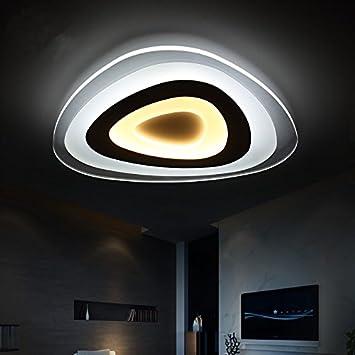 Moderne Einfach Wohnzimmer Lampe Ultra Slim Led Deckenleuchte Besondere Persnlichkeit Schlafzimmer Zimmer Restaurant Lampe40 Trichromatischen