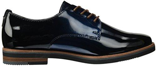 Marco Tozzi 23200, Scarpe Oxford Donna Blu (Navy Patcomb)
