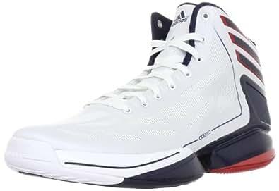 Adidas adiZero Crazy Light 2 White Navy USA Rose Mens Basketball Shoes G48805-UK Size 8.5/US Size 8.5