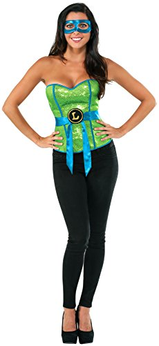 do Adult Costume Corset Small (Leonardo-tmnt)