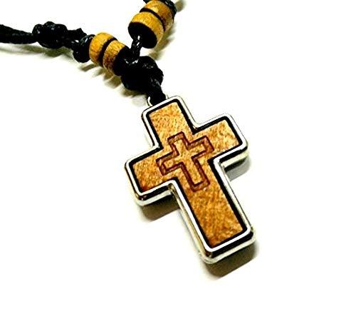 ☦ Pendentif Russe Orthodoxe de Protection en Forme de Bouclier Archange Saint Michel en Armure DM52