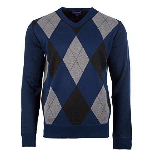 Ballantrae - Pull - Homme Turquoise