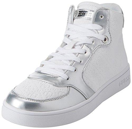 Hautes Active Femme Footwear Fb4g4c Lady Baskets Guess Argent qMVGSzUp