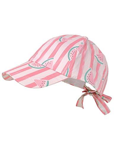 maximo Mädchen Kappe Cap Wassermelone, Mehrfarbig (Flamingo-Wassermelone 43), 51