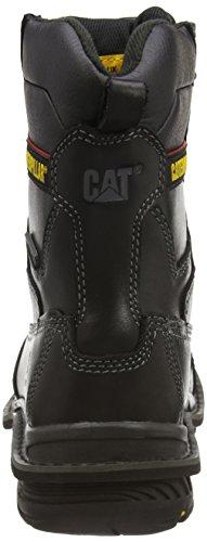 Cat - Doffer, Scarpe antinfortunistiche Uomo Nero (Black)