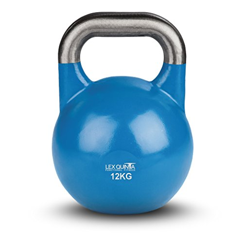 Lex Quinta Competition Kettlebell - die Wettkampf Kugelhantel - 12kg blau