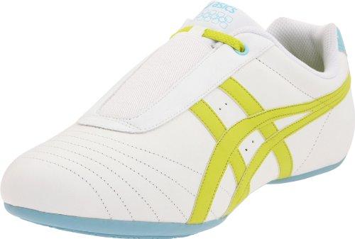 Asics, Sneaker donna White/Lime