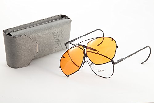 Gafas de tiro trineos Caza Paoletti Sport Naranja
