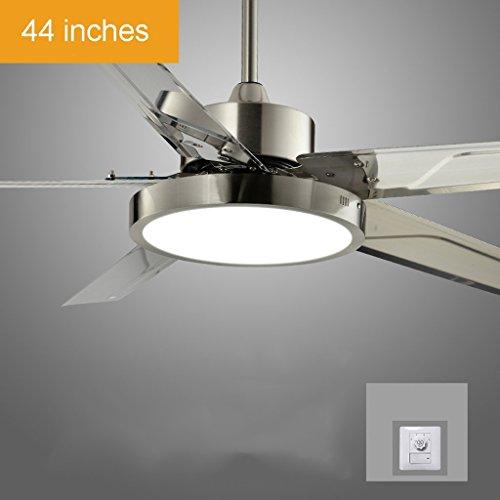 Macarons unsichtbare Deckenventilator Licht Esszimmer Schlafzimmer Wohnzimmer Home Decke einfach Ultra-quiet Remote Fan Light lassen Sie zu Hause ein wenig mehr Farbe 36/42 cm, 24/36 W, drei Farben, Wand-/Fernbedienung (Farbe: Fernbedienung, Größe: 91 cm (36 Zoll) (Fan-licht-schatten)